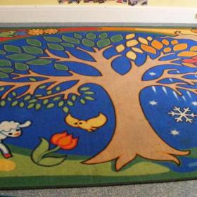Nursery rug - before