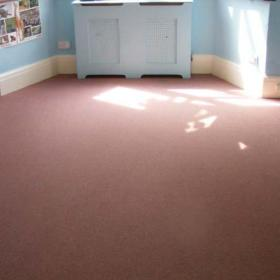 Nursery room after cleaning