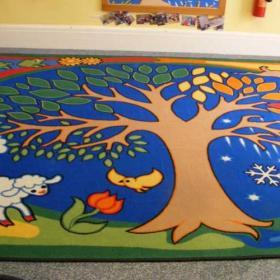 Nursery rug - after